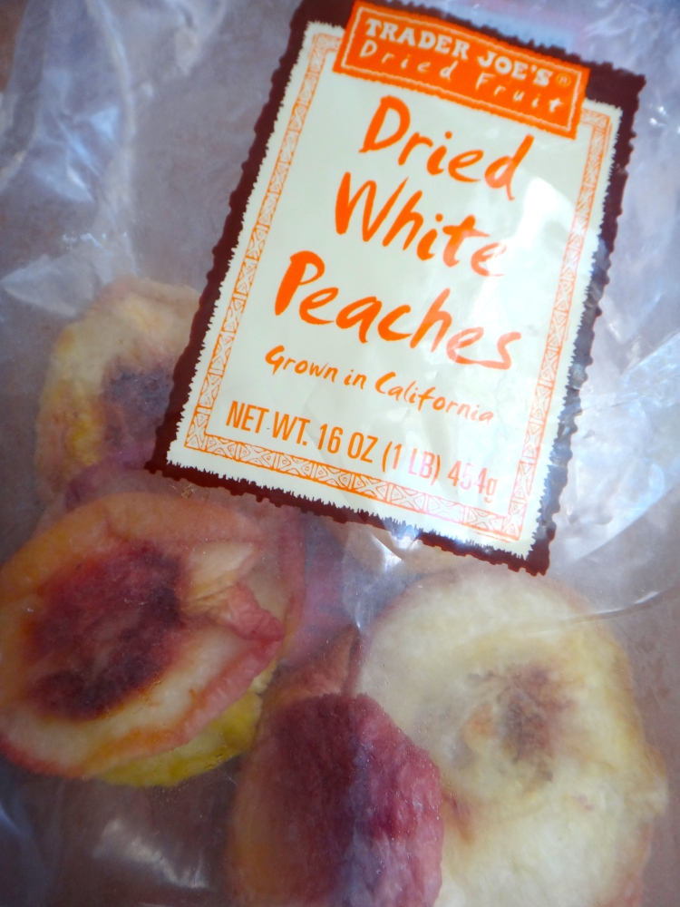 Dried White Peaches