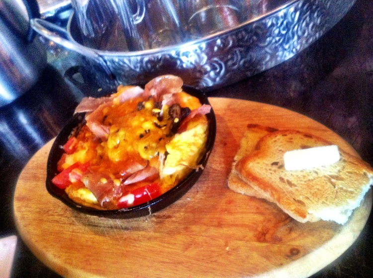 Prosciutto, Omelette