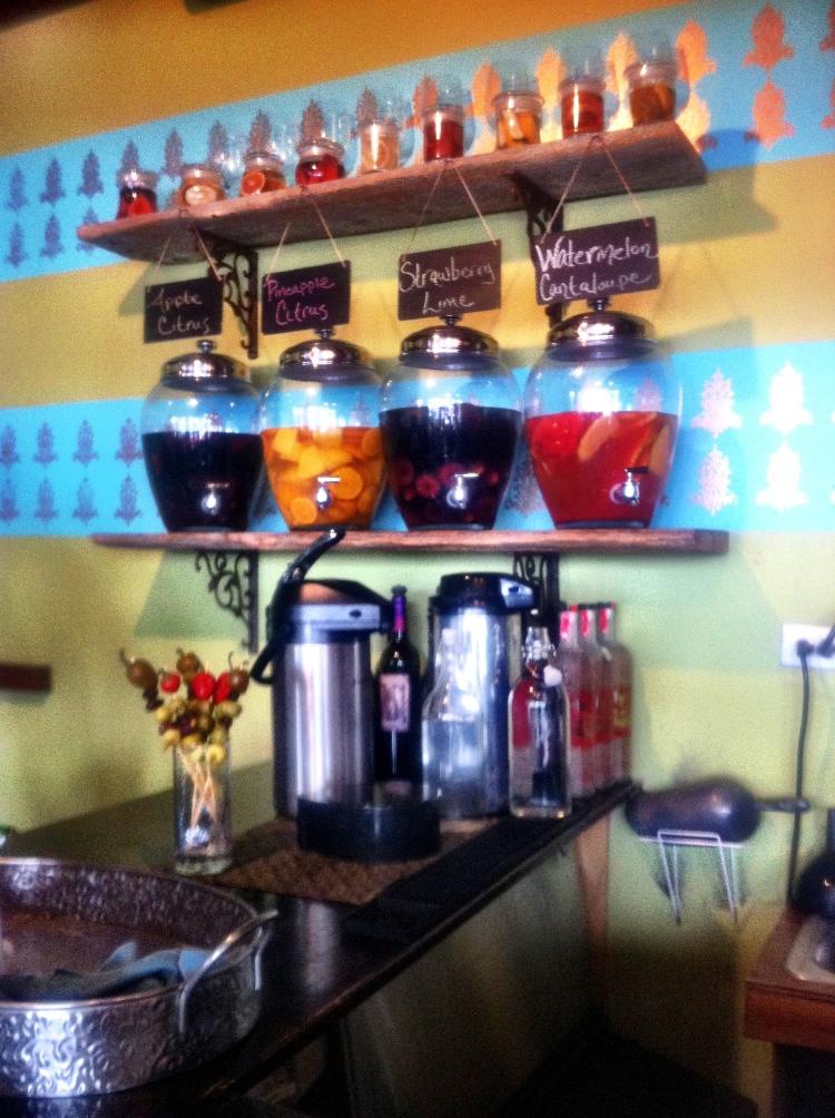 sangria, cafe 21, san diego