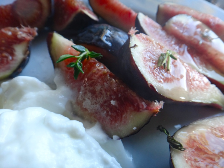 Fig + Honey  + Thyme + Greek Yogurt