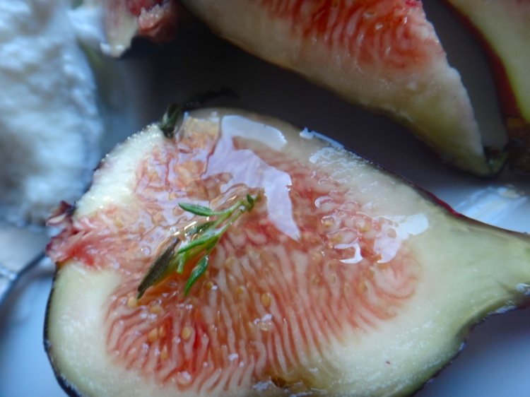 Fig with Thyme & Honey