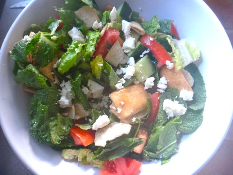 Greek Fattoush Salad
