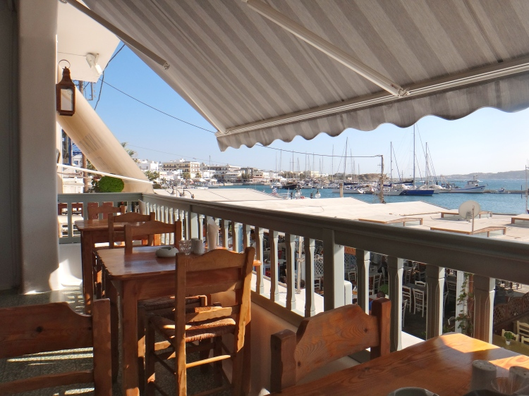 Our Favorite Restaurant in Naxos