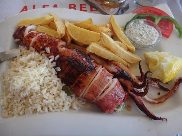 Stuffed Calamari