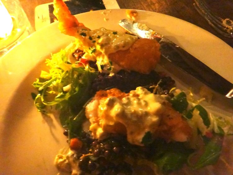 Crispy Pacific Red Snapper with Capers, Preserved Lemon and Remoulade