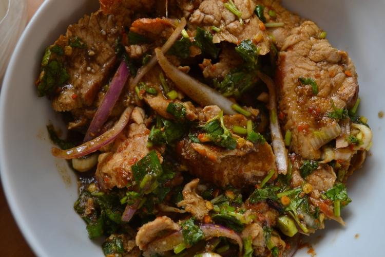 Pork Nahm Tok