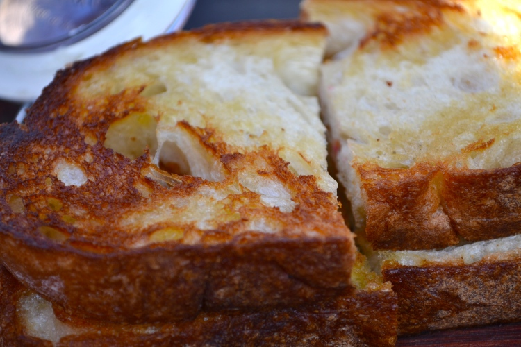 Grilled Pugliese Bread