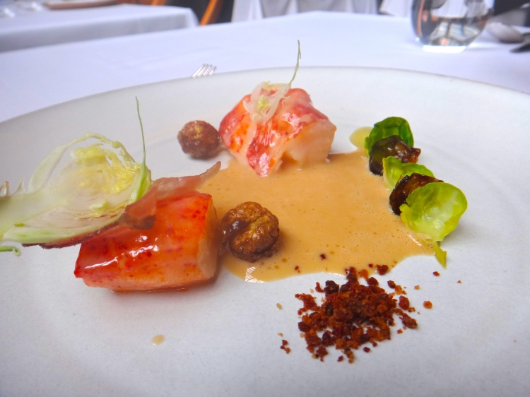 Lobster with Brussel Sprouts