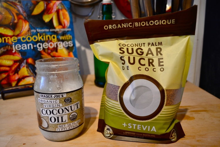 Coconut Oil and Coconut Sugar with Stevia